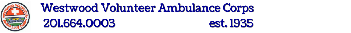 Westwood Volunteer Ambulance Corps(201) 664 - 0003